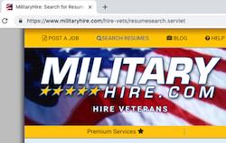 reach veteran job seekers daily