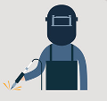 welding jobs for veterans infographic