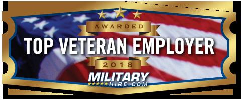 top veteran employers badge